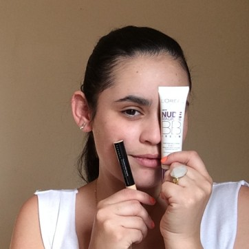 BB cream and concealer