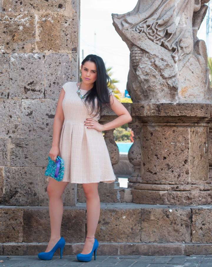 Blue heels!!