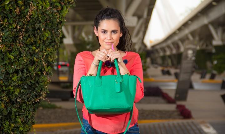 I love my green purse