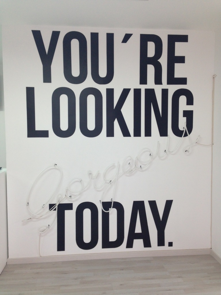 You are looking gorgeous today