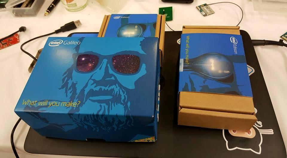 Intel Edison and Intel Galileo