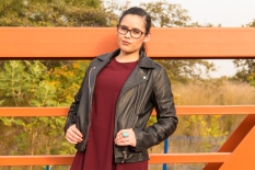 From POST: Burgundy & leather