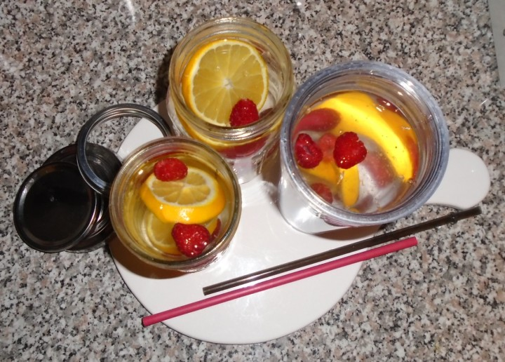 This week let's… drink infusedwater