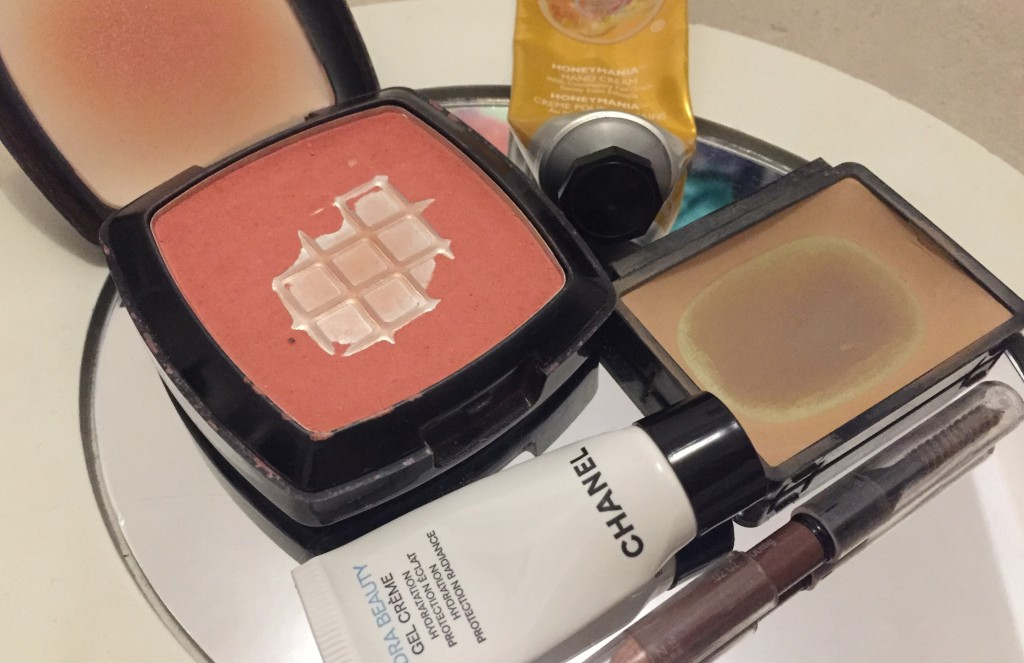 old and expired makeup