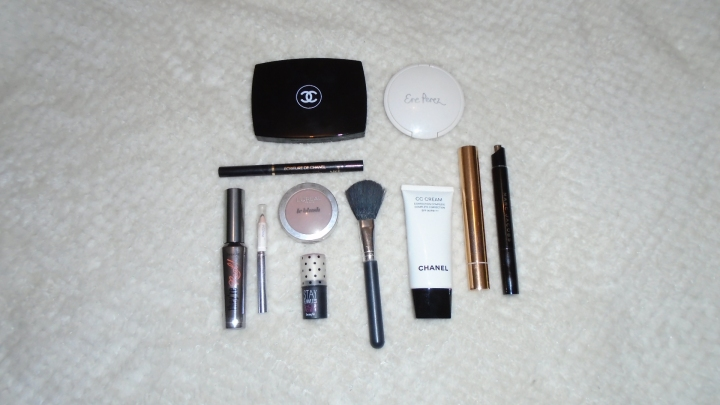 What's on my makeupbag