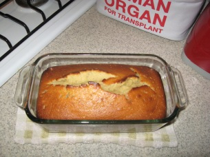 From POST: Sweet banana bread treat
