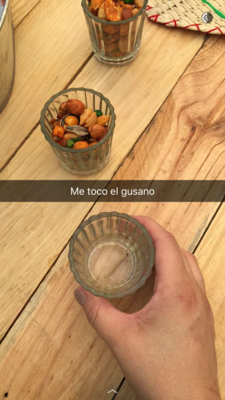 Mezcal & gusano