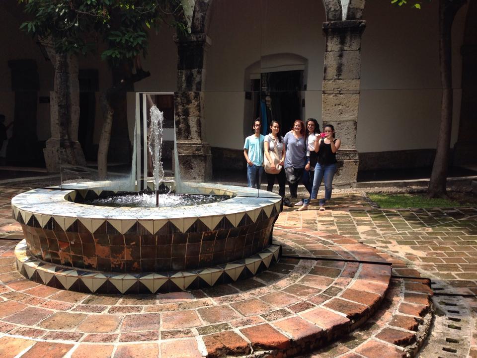 At Hospicio Cabañas with my family
