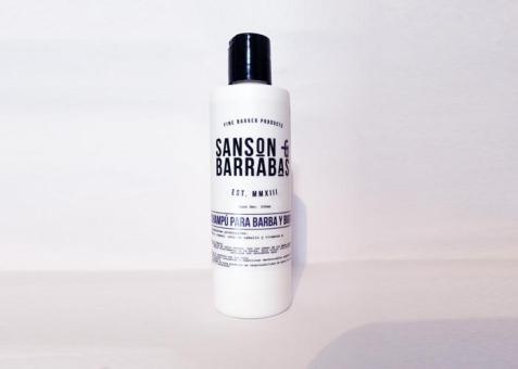 Sanson & Barrabas Champu para barba y bigote