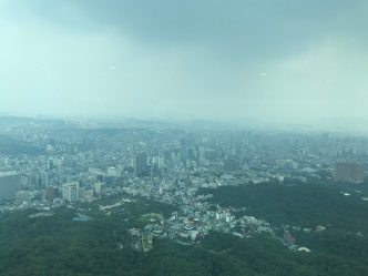 Korea from N tower