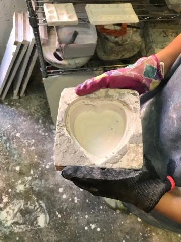 Syrihee hart mold