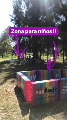 Festival Colomos por La Mirilla Area para niños