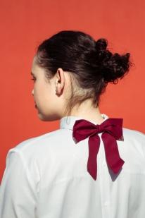 Shirt Backwards bow detail