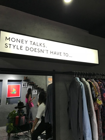 Oxen Money talks style doesn't have to