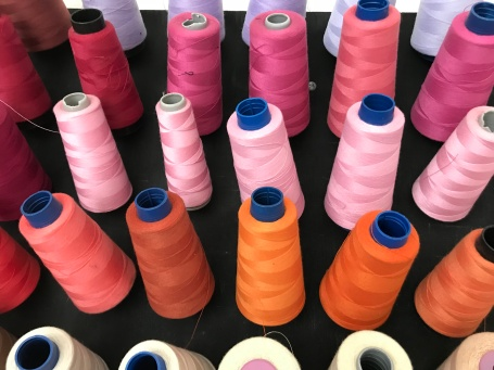 Paola Najera pink thread