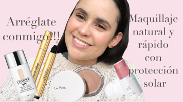 From POST: GRWM Easy and natural make up with SPF in Youtube (Spanish)